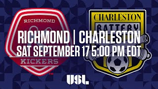 Richmond Kickers vs Charleston Battery full match