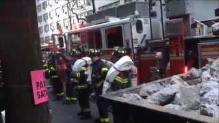 FDNY Responding To & On Scene Of A 10-77 2nd Alarm Fire On East 46th Street In Midtown Manhattan