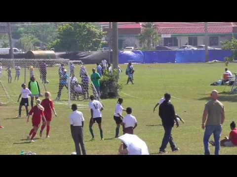 Bahamas Senior Girls Soccer Championships playoffs Grand Bahama 2016 LIS vs Sunland