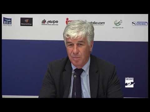 Atalanta, presentato il nuovo allenatore Gian Piero Gasperini