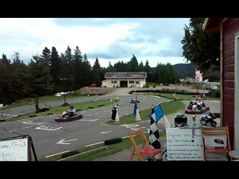 Go karting montreal youtube for Go kart montreal exterieur
