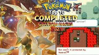 Top 10 Completed Pokemon GBA Rom Hacks 2019!! (Android/PC)