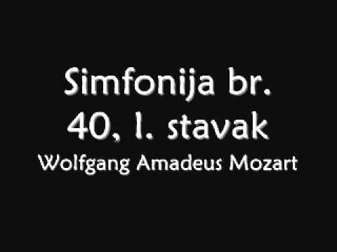 Wolfgang Amadeus Mozart: Simfonija br. 40, I. stavak