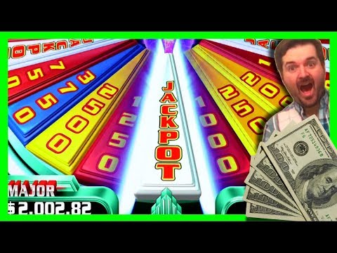 JACKPOT WON! Lets SPIN AND WIN on Super Wheel Blast Slot Machine Bonuses with SDGuy1234