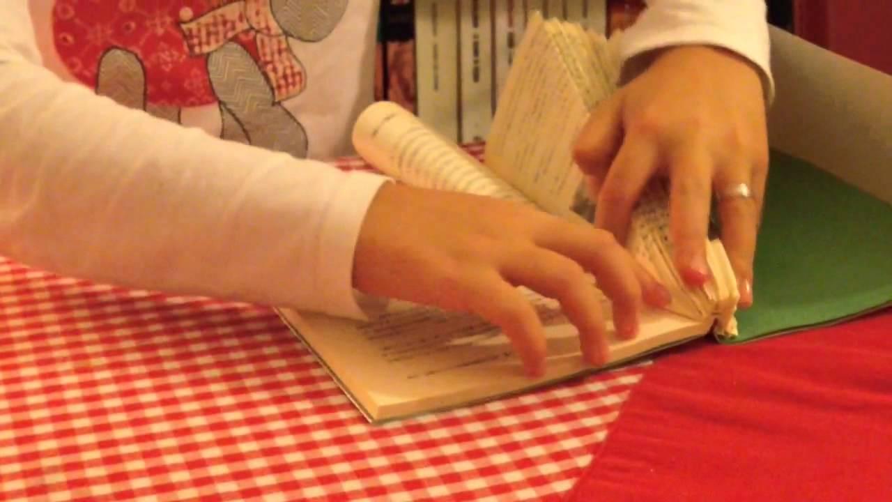 Favorito realizza un albero di Natale con un vecchio Libro - YouTube KO74