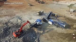 Kleemann - Wirtgen Group - John Deere  Equipment in action