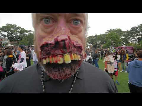 Sydney Video Walk 4K - Zombie Walk Spring 2017