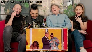 REACTING TO THE TV SHOW IM ON!! | W/ Rob Beckett and The Singing Dentist