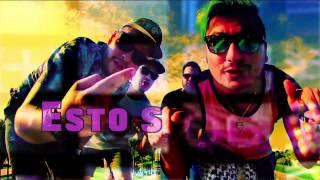 Los Ajenos & Daneon - ESTO SE VA A DESCONTROLAR - Lyric Video