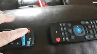 how to program the five IR buttons on the MX3 air mouse