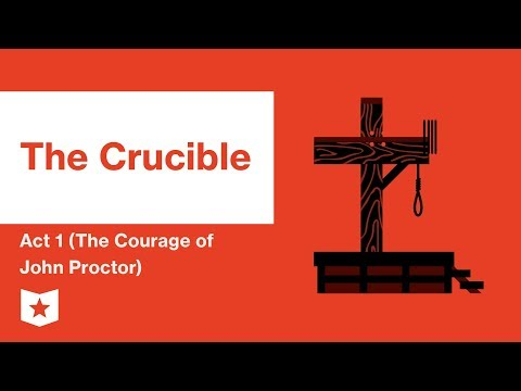 the three stages of john proctors transformation in the crucible a play by arthur miller Prime stage theatre - 1  the crucible by arthur miller   the wife of john proctor while the girls went crazy, dancing,  his 1953 play, the tony award-winning.