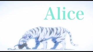 文豪ストレイドッグス「Alice」 歌詞付き。 song Alice vocal 米白 米白...