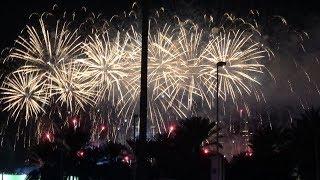 New Year Eve Fireworks 2018 at Abu Dhabi Al Maryah Island