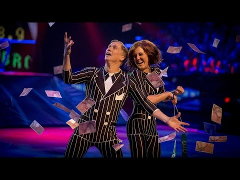 Peter Duncan's Rhythmic Performance to 'Money Money Money' - Tumble: Episode 4 - BBC One