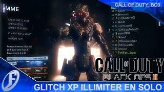 GLITCH   Gagner de l'XP en illimitée tout seul - Black ops 3