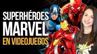 Los SUPERHÉROES MARVEL en VIDEOJUEGOS | MERISTATION
