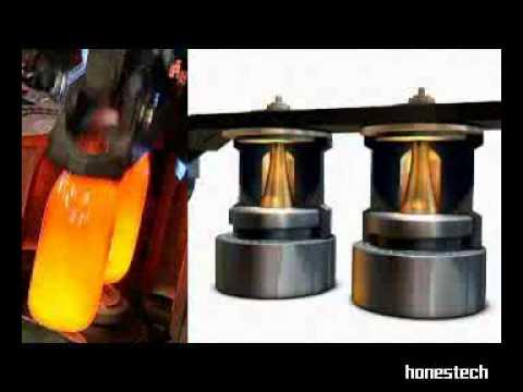 Processus de fabrication d 39 un flacon en verre pour la - Fabriquer un range bouteille ...