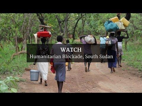 Humanitarian Blockade, South Sudan
