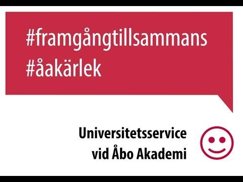 Universitetsservice vid Åbo Akademi – Framgång tillsammans