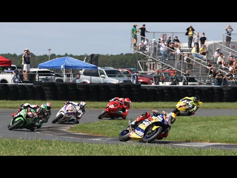 MotoAmerica Stock 1000 Race at New Jersey 2020
