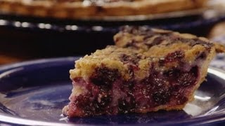 Pie Recipe - How to Make Creamy Blueberry Pie