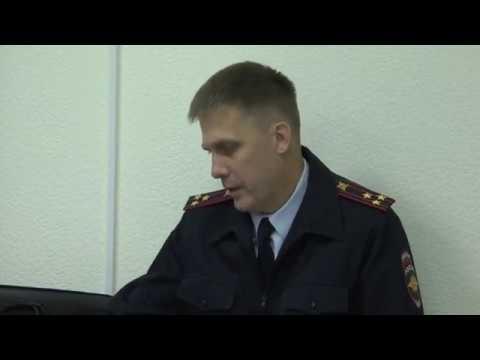 Члены Общественного совета заслушали начальника УНК УМВД России по Томской области
