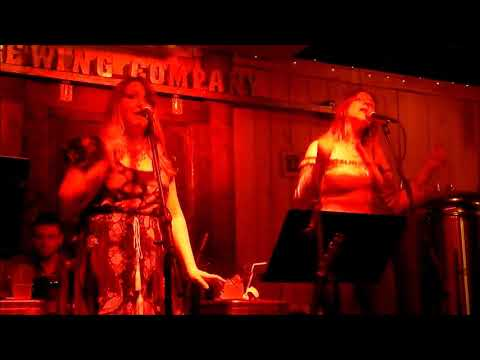 "The Red Hots ""Boogie Woogie Bugle Boy"" (Andrews Sisters cover) Woodbury Brewing Company, CT, 2/16/18"