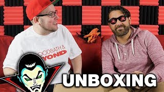 Fright Crate October 2017 Mega Box Unboxing