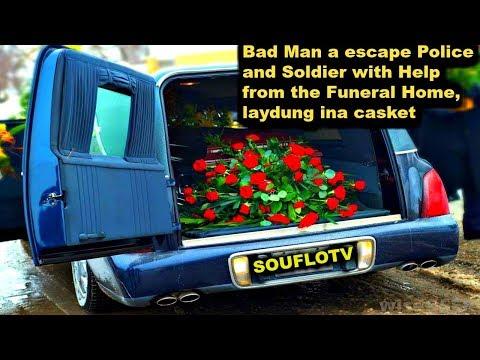 Jamaican Gun Men escaping law enforcement in Caskets with Funeral Home Help?