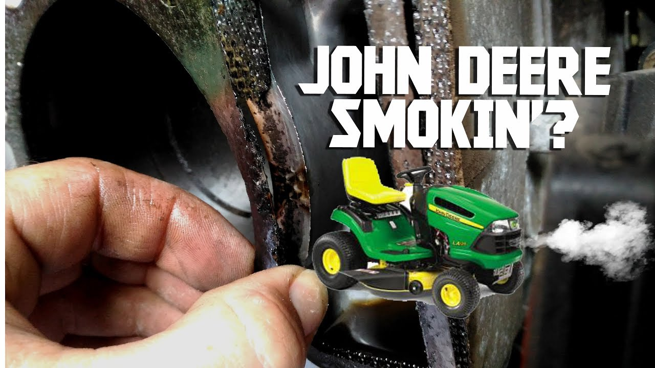 John Deere LA125 Smoking, Head Gasket Replacement