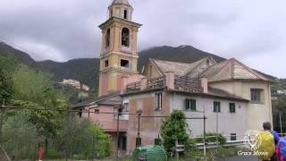 Liguria- trekking Verdeazzurro da Deiva Marina a Levanto (Canon Legria HFG 10) HD