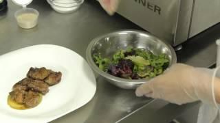 «Современник».Блог шеф-повара.Салат с куриной печенью
