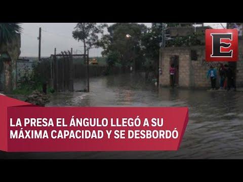 Severas inundaciones en Cuautitlán Izcalli y Tlalnepantla por lluvias