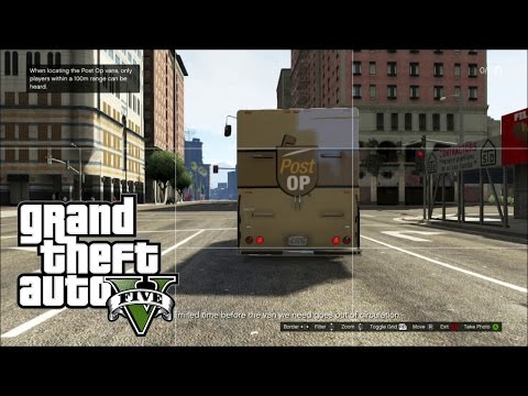 GTA V Online Pacific Standard Vans Setup #1 Easy and fast way to do it !