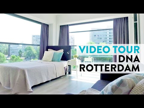 Rotterdam Furnished City Studios - Video Tour DNA