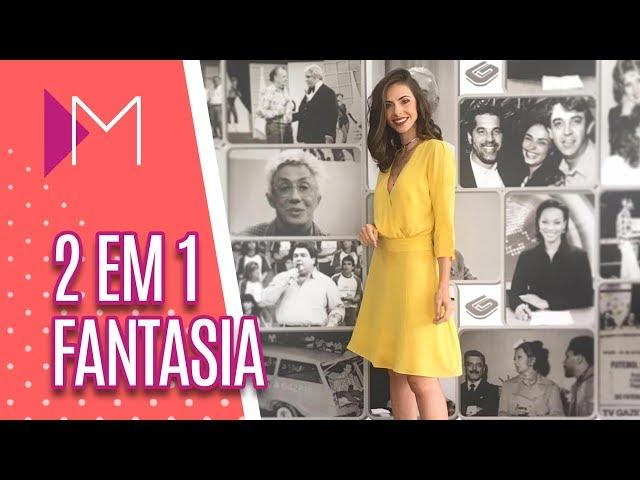 2 em 1: otimizando fantasias de Carnaval - Mulheres (26/02/2019)