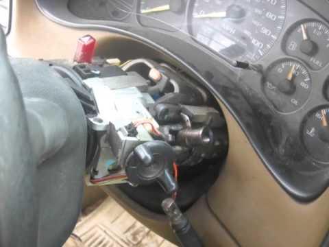 Chevy Silverado Column Shifter 1999 - 2006 - YouTube