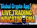 Global Crypto App Live Trading Results Indicators (Road To €10,000 Ep.4)