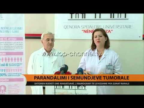Parandalimi i sëmundjeve tumorale - Top Channel Albania - News - Lajme