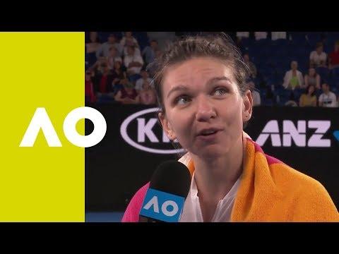Simona Halep on-court interview (2R) | Australian Open 2019