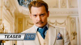 Mortdecai (2015 Movie - Johnny Depp) - Official Teaser Trailer