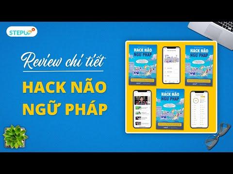 cách sử dụng sách hack não 1500 từ tiếng anh - Đập hộp review Hack Não Ngữ Pháp   Step Up English