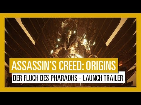 Assassin's Creed Origins: Der Fluch des Pharaos - Launch Trailer   Ubisoft [DE]