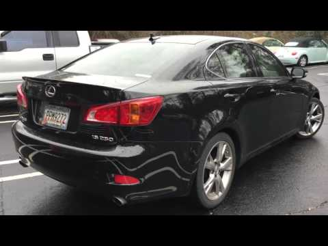 2009 Lexus IS Refresh: What's Different?