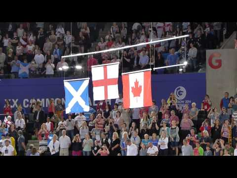 Jerusalem - Gymnastics Team Medal Ceremony, XX Commonwealth Games, Glasgow 2014