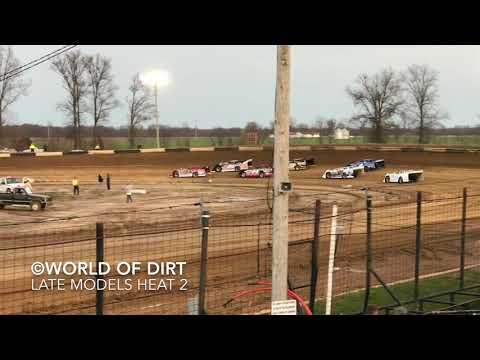 4.17.18 | Late Model Heat 2 | Fayette County (IL) Speedway
