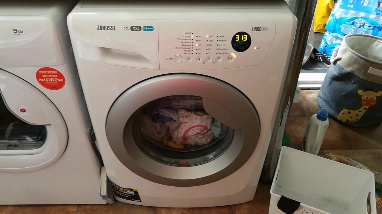 Zanussi Lindo 300 washing machine review Zanussi