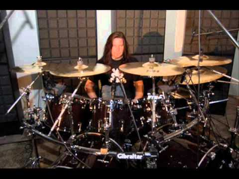 "Megadeth: Shawn Drover-""Sleepwalker"" Drum Track (HQ 480p)"