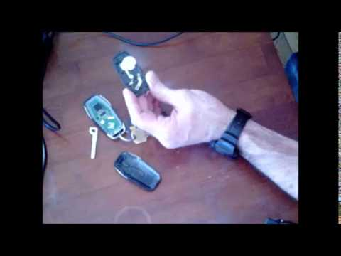 Fusion Key Fob Battery replacement - YouTube