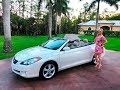 2006 Toyota Solara SLE Convertible review w/MaryAnn For Saly By: AutoHaus of Naples